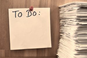 A to do list which is ver helpful when moving to Europe