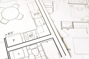 A floor plan.