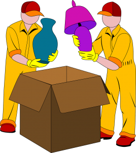 An illustration of Hamilton movers