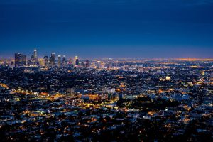 LA  city view to enjoy before your LA relocation during holidays
